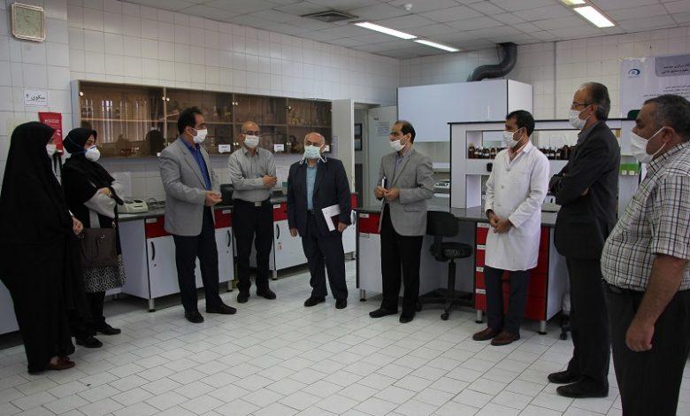 بازدید از موسسه علوم و صنایع غذایی