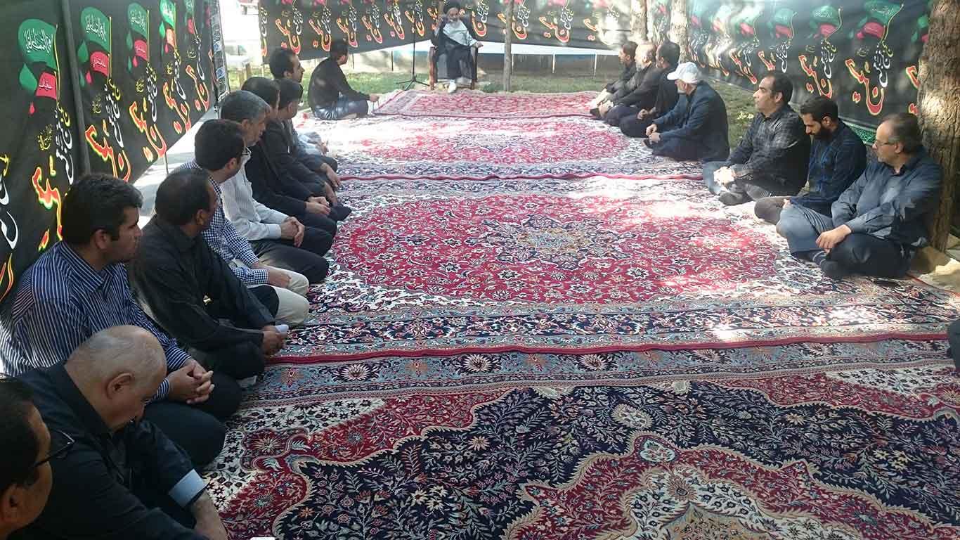 Photo of برگزاری مراسم عزاداری دهه اول محرم در مؤسسه رازی مشهد
