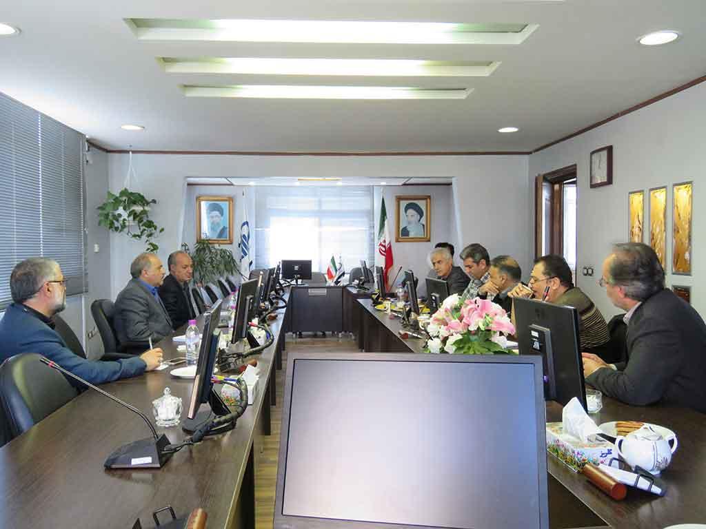 جلسه معاون تولید رازی