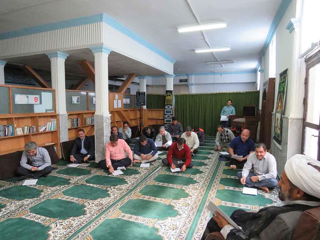 Photo of برگزاری آزمون ضمن خدمت عقیدتی