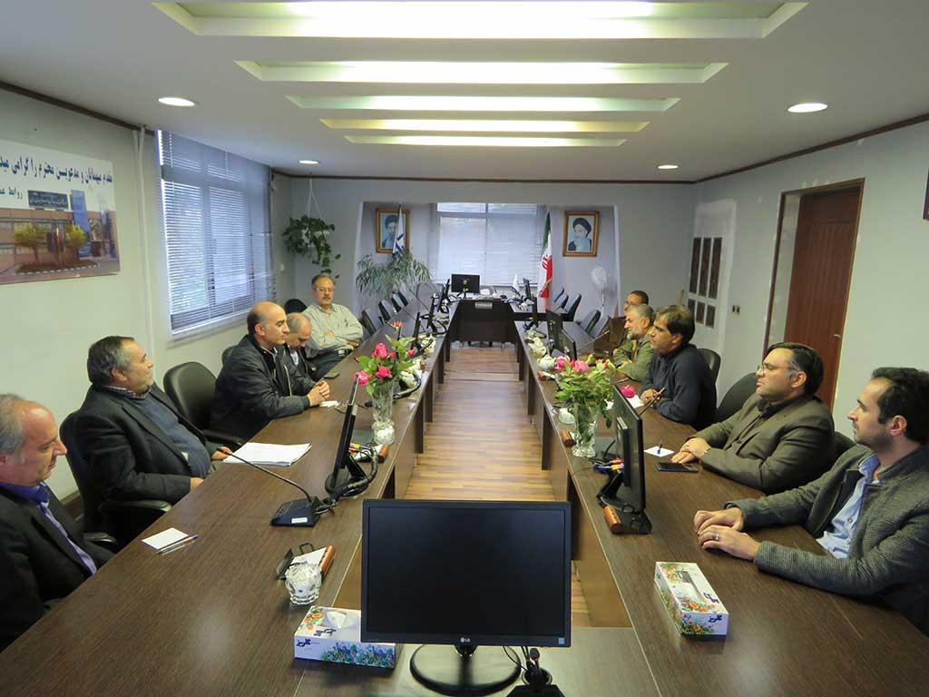 Photo of برگزاری جلسه شورای پژوهشی