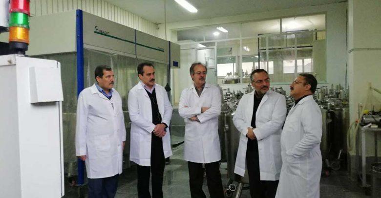 بازدید مدیرکل دیوان محاسبات از مؤسسه رازی مشهد