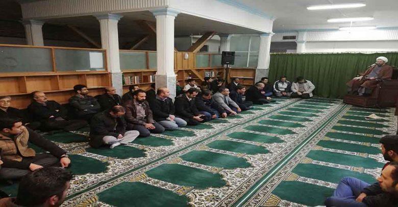 مراسم دهه فاطمیه در مؤسسه رازی مشهد